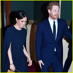 Meghan Markle & Prince Harry Couple Up at Queen Elizabeth's Birthday Party
