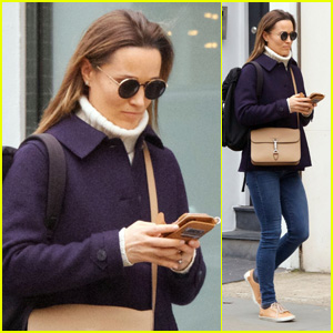 Pippa Middleton Hits the Gym & Goes Shopping Amid Reports of Her First Pregnancy!