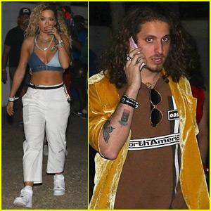 Rita Ora is Joined by Boyfriend Andrew Watt at Coachella!