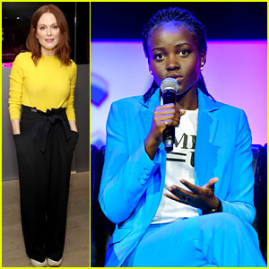 Lupita Nyong'o, Julianne Moore, & More Powerful Women Support Time's Up Movement at Tribeca Film Fest