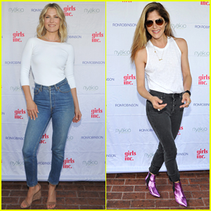 Ali Larter is Joined by Selma Blair at Nyakio Beauty Launch Event in LA!