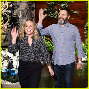 Amy Poehler & Nick Offerman Open Up About a Potential 'Parks & Recreation' Reunion - Watch Now!