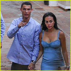 Cristiano Ronaldo & Georgina Rodriguez Have a Date Night in