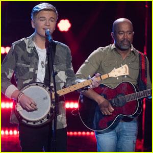 Darius Rucker Joins Finalist Caleb Lee Hutchinson on 'American Idol' Finale - Watch Now!