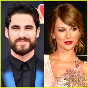 Darren Criss Jokingly Tries to Get Taylor Swift to Move Out of His Sightline at Billboard Music Awards! (Video)