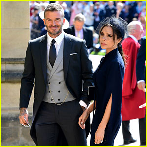David & Victoria Beckham Attend Their Second Royal Wedding!
