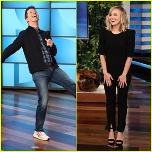 Sean Hayes & Kristen Bell to Guest Host 'The Ellen DeGeneres Show'!
