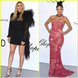 Ellie Goulding & Nicole Scherzinger Get All Dressed Up for a Good Cause in Cannes!