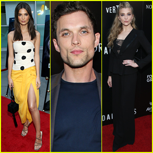 Emily Ratajkowski & Natalie Dormer Join Ed Skrein at 'In Darkness' Premiere