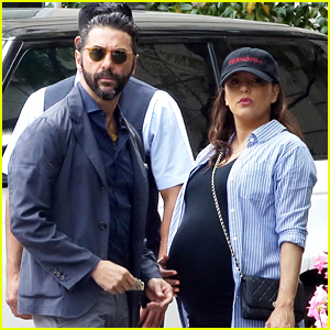 Eva Longoria Heads to Doctor's Appointment with Jose Baston!