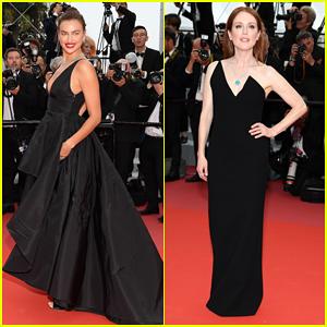 Irina Shayk & Julianne Moore Stun at 'Yomeddine' Cannes Film Festival Premiere!