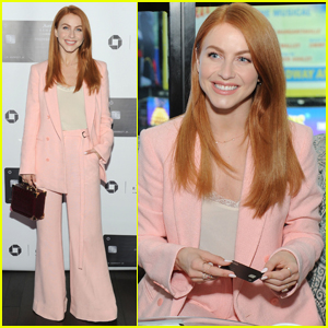 Julianne Hough Goes Pretty in Pink for Marriott Rewards Event in NYC!