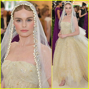 Kate Bosworth Goes Angelic for Met Gala 2018
