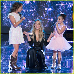 LeAnn Rimes Surprises Layla Spring & 7-Year-Old Sister During 'American Idol' Finale