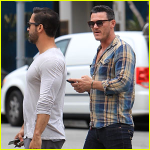 Luke Evans Grabs Sushi Lunch with Rumored Boyfriend!