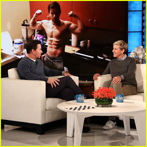 Mark Wahlberg Discusses His Shirtless Social Media Pics - Watch Now!