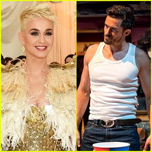 Katy Perry Watches Boyfriend Orlando Bloom in 'Killer Joe' Play in London!