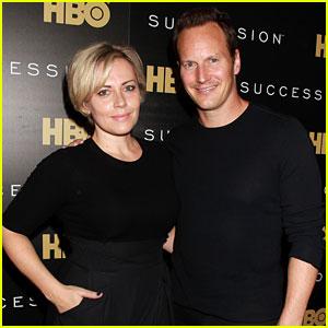 Patrick Wilson Supports Wife Dagmara Domincyzk at 'Succession' Premiere!