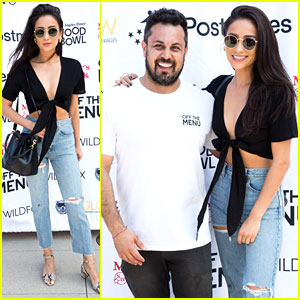 Shay Mitchell Creates Burger For Off The Menu Competition