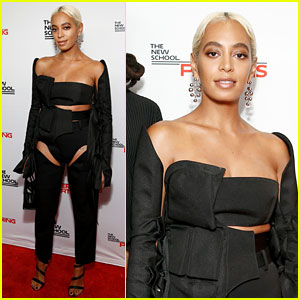 Solange Knowles Gets Honored at Parsons Benefit in NYC