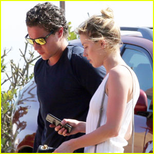 Amber Heard Joins Rumored Boyfriend Vito Schnabel For Dinner in Malibu!