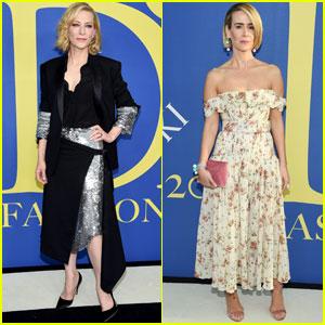 Cate Blanchett & Sarah Paulson Get Chic at CFDA Fashion Awards 2018!