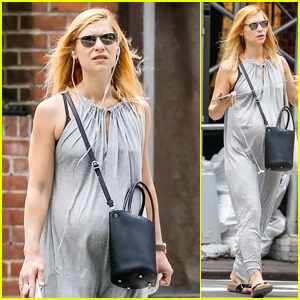 Pregnant Claire Danes Shows Off Her Baby Bump in Soho