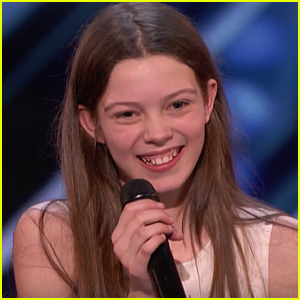 13-Year-Old Courtney Hadwin Gets Golden Buzzer on 'America's