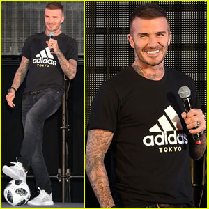 David Beckham Celebrates the World Cup in Japan!