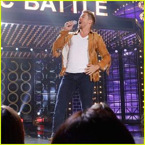 Derek Hough Teases 'Lip Sync Battle' Shania Twain Tribute - Watch Now