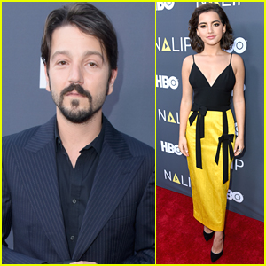 Diego Luna & Isabela Moner Step Out for NALIP Latino Media Awards 2018!
