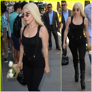 Lady Gaga Heads to Electric Lady Studios in New York City After Celebrating Pride!