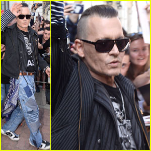 Johnny Depp Emerges Amid Reports That He's 'Purposely' Losing Weight