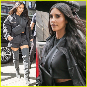 Kim Kardashian Steps Out for Ice Cream in NYC!