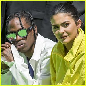 Kylie Jenner & Boyfriend Travis Scott Attend Louis Vuitton Fashion Show in Paris!