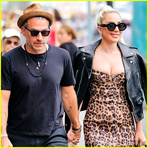 Lady Gaga Holds Hands with Boyfriend Christian Carino in NYC!