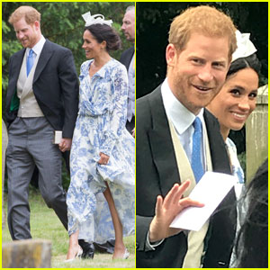 Duchess Meghan Markle & Prince Harry Attend His Cousin's Wedding!