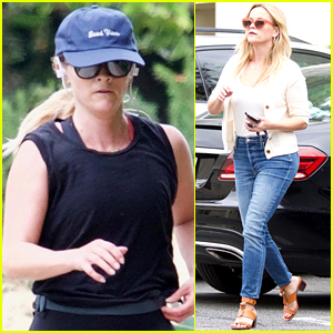 Reese Witherspoon Starts Off Her Day with a Run!