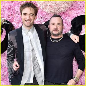 Robert Pattinson Supports Kim Jones' Dior Debut in Paris