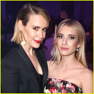 Sarah Paulson, Emma Roberts & Ryan Murphy Tease 'American Horror Story' Season 8!