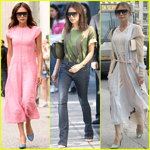 Victoria Beckham Is Making NYC Her Runway with Chic Fashion!