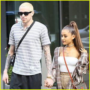Pete Davidson Denies Gifting Cazzie David His Dad's Real FDNY Badge After Giving It to Ariana Grande