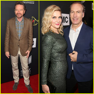 Bryan Cranston Supports 'Better Call Saul' Cast During Comic-Con Premiere!