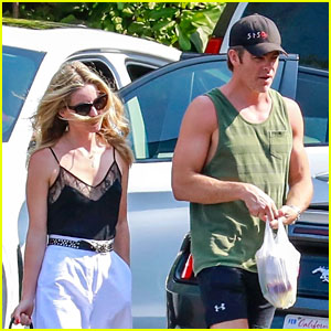Chris Pine & Annabelle Wallis Go on a Fast Food Run Together!