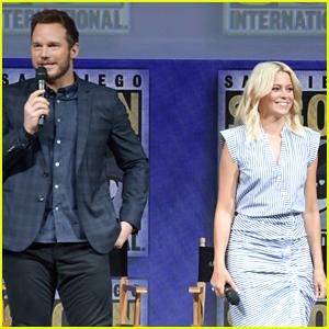 Chris Pratt & Elizabeth Banks Bring 'The Lego Movie 2' to Comic-Con!