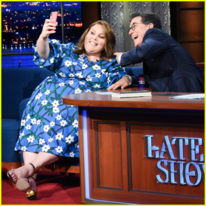 Chrissy Metz Explains How To 'Show Up For Yourself' on 'Late Show'