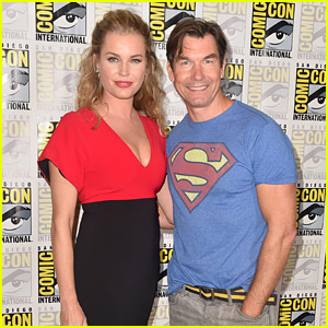 Jerry O'Connell & Rebecca Romijn Couple Up at Comic-Con!