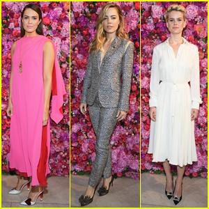 Mandy Moore Gets Glam for Schiaparelli Runway Fashion Show!