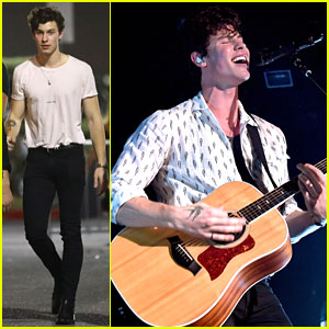 Shawn Mendes Performs Exclusive Concert for SiriusXM