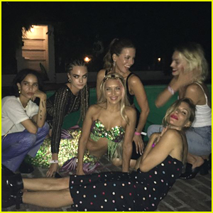 Cara Delevingne Celebrates Birthday with Star-Studded Party!